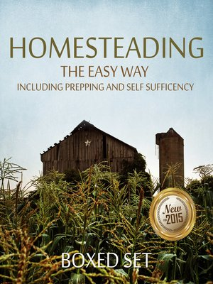 cover image of Homesteading the Easy Way